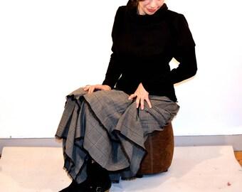 tartan underskirt
