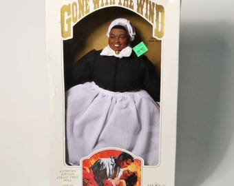 """1989 Gone With the Wind """"Mammy""""  World Doll Limited Edition Collectible Doll-NIB"""