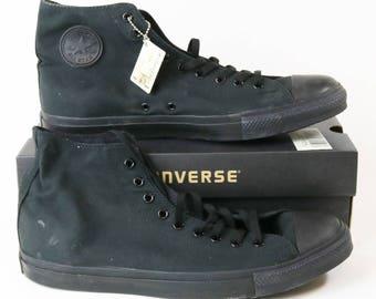 Converse Chuck Taylor All Star X3310 Hi High Top Black Shoes Men's 16 NIB