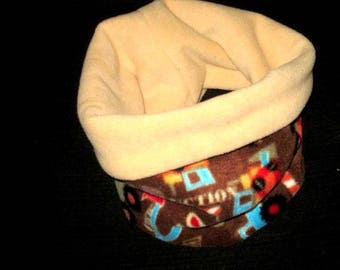 snood, neck, neck warmer, tube scarf, neck polar boys (one size 5/12 years)