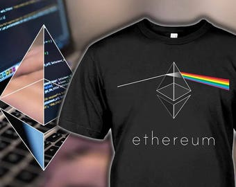 Ethereum Shirt - Cryptocurrency Gifts - Floyd Ethereum Tshirt - Cryptocurrency Mug - Ethereum Hoodie - Bitcoin Tee - Kids to 5XL Sizes!