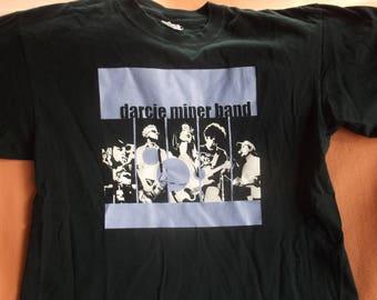 Vintage 1990s Darcie Miner Band Concert T-Shirt, 100% Pre shrunk Cotton, Size M, never worn 90s Darcie Miner band Shirt