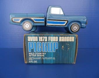 Avon bottle Ford Ranger Pick up Truck with box