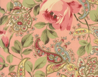 Moda Fabric Roses & Chocolate II 33270-12...Sold in continuous cut 1/2 yard increments