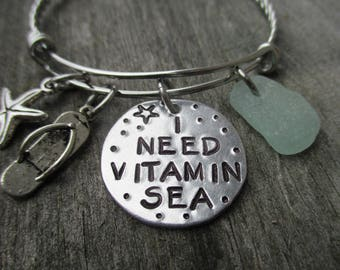 I Need Vitamin Sea-Bracelet