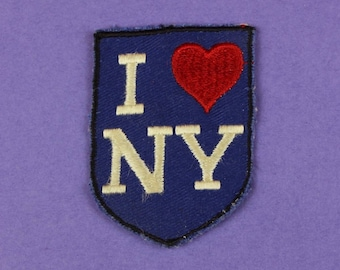 I Love NY Vintage 1970s NOS Patch