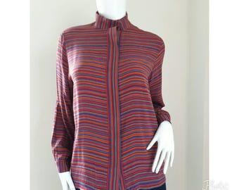 Pierre Cardin blouse Size 9 Medium.