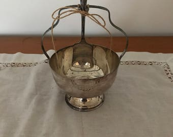 vintage sugar bowl