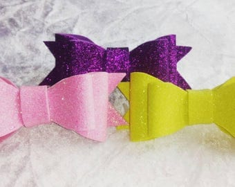 Childrens glitter Hair bows