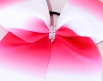 Cheer Bow - Pink Ombré