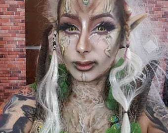 elf elvian fairy scars scarification tribal festival