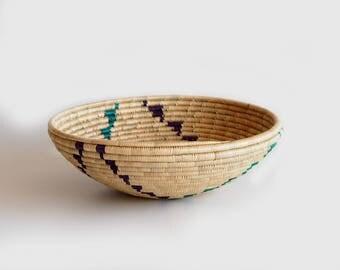 vintage woven southwestern basket