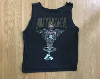 VTG 1996 Metallica King Nothing Chopped T-Shirt - Medium Mens - Pushead - 90s Metal - Heavy Metal - Vintage Tee - Vintage Clothing -