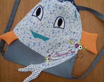 small backpack for kids and baby fish