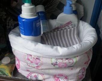 basket reversiblebebe for bathroom accessory