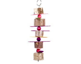Bead Strip Hanging Chew Toy