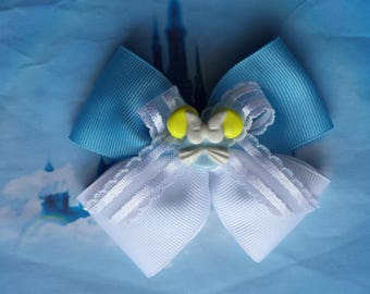 Cinderella Inspired Hair Bow----Cinderella Mickey Mouse Inspired Hair Bow