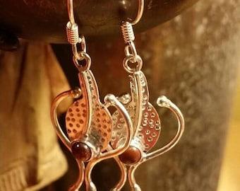 Holiday SALE 85 % OFF Sunstone   Earrings Sunsitara  Gemstone  .925 Sterling  Silver #etsyonsale #theunlikelybandit