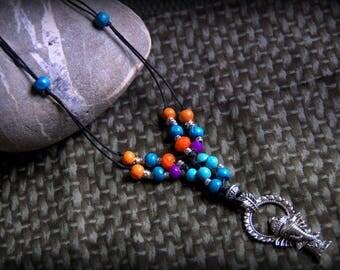 mid-long necklace Tibetan spirit