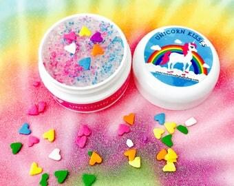 Unicorn Kisses Flavored Lip Scrub