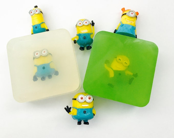 Minion Inspired  Scented Toy Soaps
