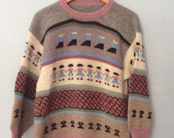 1980s Southwest Wool Sweater