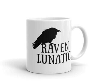 Raven Lunatic Mug made in the USA