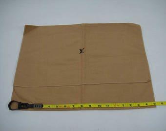 """AUTHENTIC Louis Vuitton Cotton Dust Bag 17""""x 12.25""""  LF011002"""