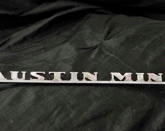 Old Austin Mini Badge