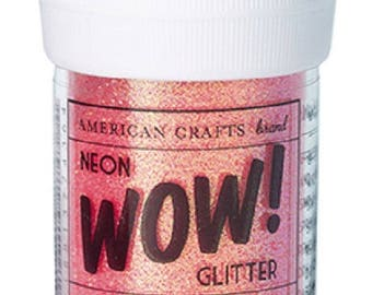 Glitter glitter WOW NEON - CHERRY color