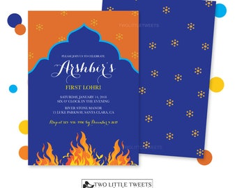 Babys First Lohri Invitation Cards Free Download