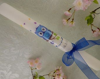 Christening candle - baptism candle - communion candle - personalised candles - Christening gifts
