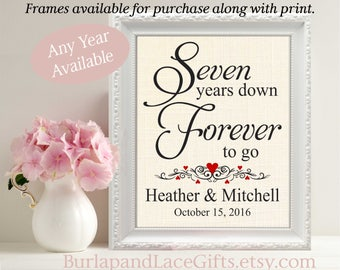 7th anniversary gift to Wife Gift to Husband Anniversary Gift for wife Anniversary Gift for Husband Gift for Anniversary Personalized (208)