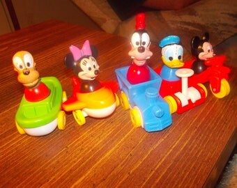 vintage mickey mouse and friends
