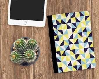 Yellow and blue Tablet Case