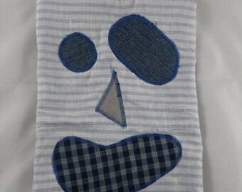 Tetine004 - Clip Blue Monster pacifier