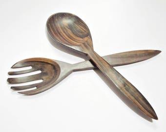 Wooden Salad Spoons
