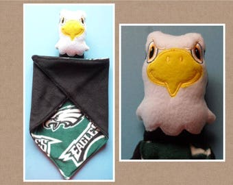 Eagle Lovey, security blanket. Ready to ship.