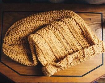 Extra Slouchy Crocheted Beanie