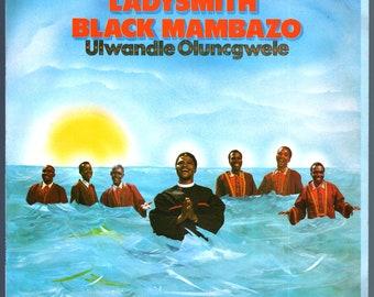 Ladysmith Black Mambazo - Ulwandle Oluncgwele (1985) Vinyl LP  Import