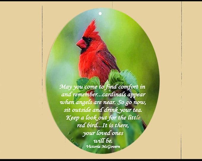 Featured listing image: sm Suncatcher -Cardinal