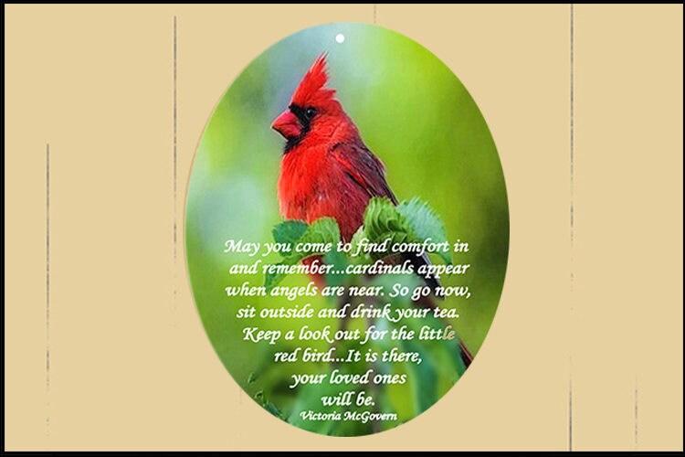 Cardinal Sit And Drink Your Tea