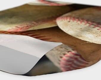 Baseballs and Glove Headband/Facescarf