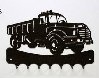 Hangs 26 cm pattern metal keys: truck Willèmes