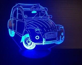 Lamp 3D pattern: 2CV