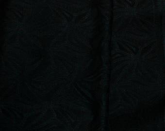 Vintage Japanese Silk Kimono Fabric Abstact Diamond
