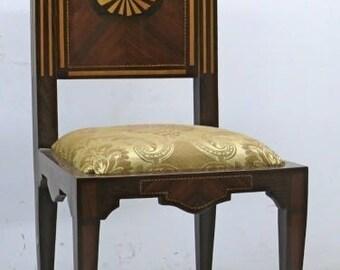 Baroque Chair Rococo antique style MoCh1137