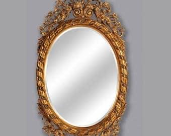 Baroque mirror wall mirror antique style AfPu171