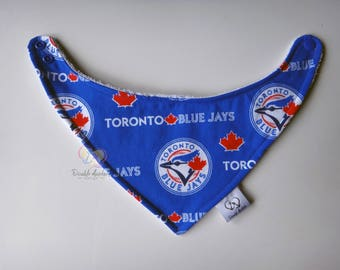 Bandana Bib ~ READY TO SHIP ~ Toronto Blue Jays