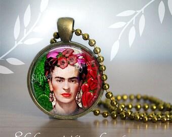 Frida Kahlo Earrings , Frida Kahlo Bracelet, Cactus, Peppers, Digital Photo Art Jewelry, one inch drop Earrings, Women Artist, Frida gift
